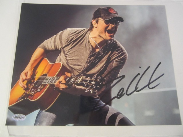Eric Church Hand Signed Autographed 8x10 Photo COA