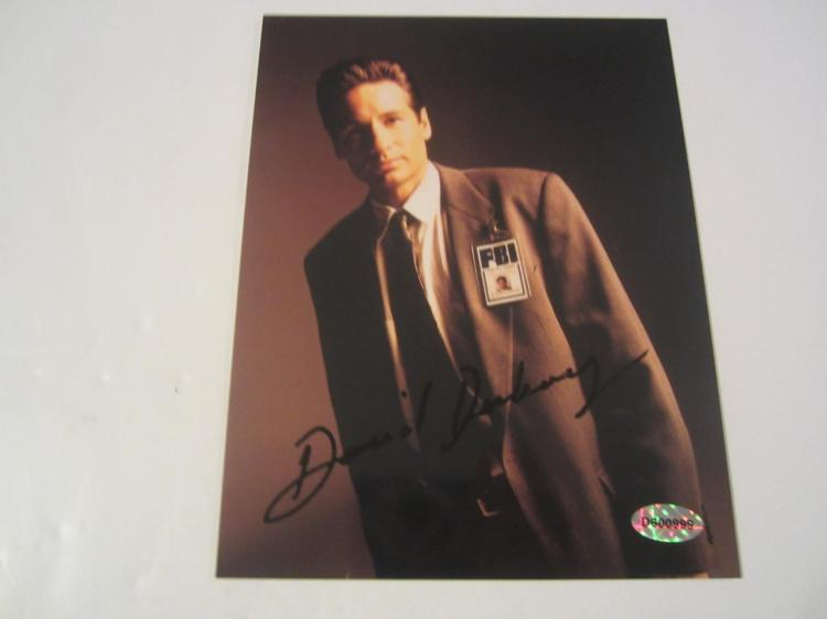 David Duchovny X Files  Hand Signed Autographed 5x7 Promo Photo COA