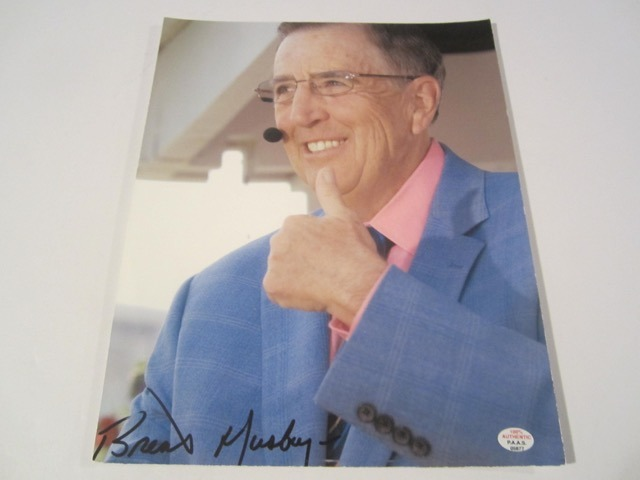 Brett Musburger Hand Signed Autographed 8x10 Photo COA