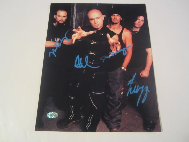 Dave Draiman The Disturbed Band Hand Signed Autographed 8x10 Photo COA