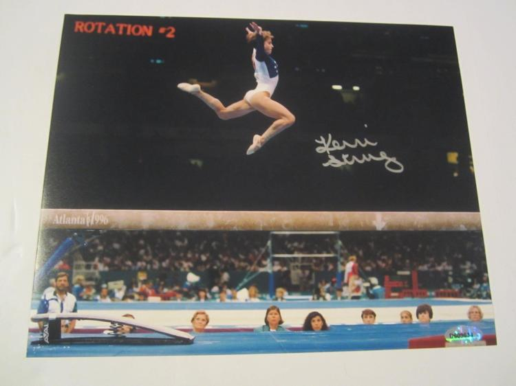 Kerri Strug Hand Signed Autographed 8x10 Photo COA