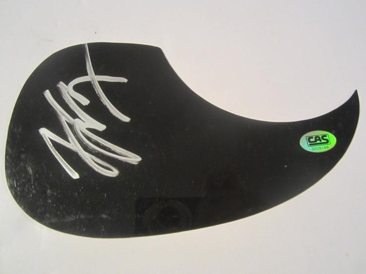 Gary Levox Hand Signed Autographed Black Pick Guard COA