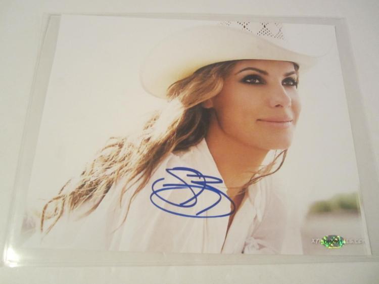 Sandra Bullock Hand Signed Autographed 8x10 Photo COA