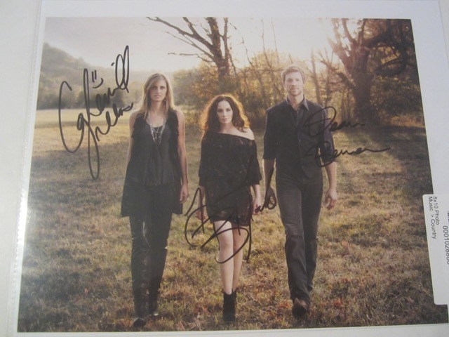Edens Edge Hand Signed Autographed Promo 8x10 Photo COA