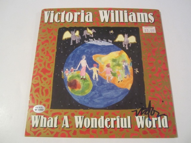 Victoria Williams Hand Signed Autographed Picture Sleeve COA