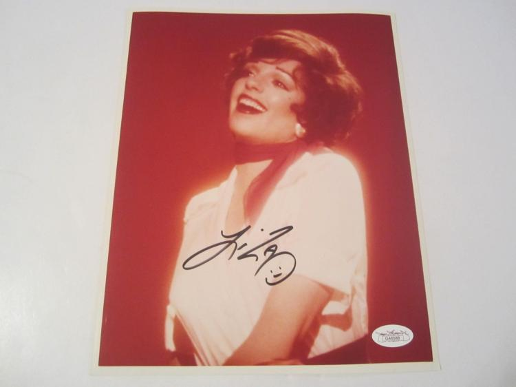 Liza Minelli Hand Signed Autographed 8x10 Photo COA