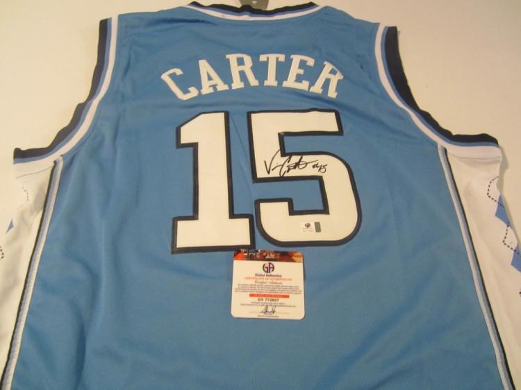 best service 16841 840f6 Vince Carter signed jersey