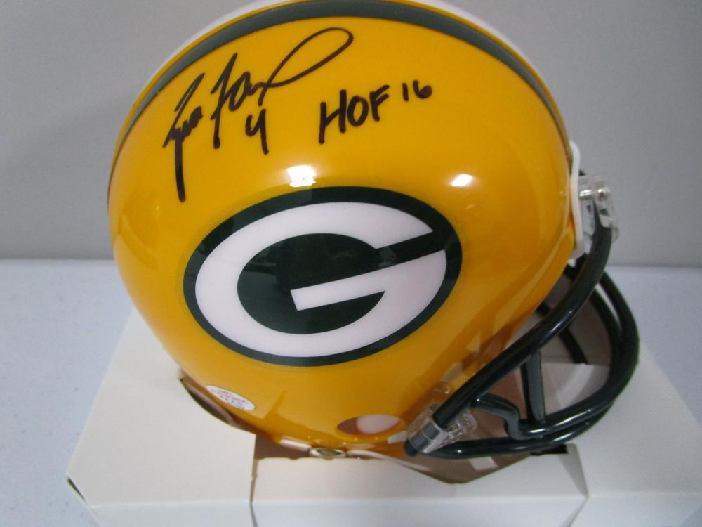 buy popular 2c3c6 cf1f0 Brett Favre Green Bay Packers signed autographed football ...