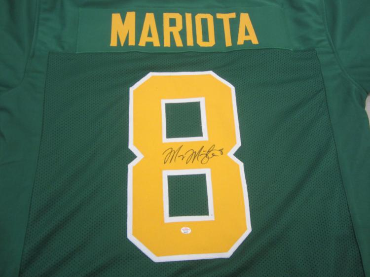 new styles 178fb 23485 Marcus Mariota Oregon Ducks signed autographed Jersey PAAS Coa
