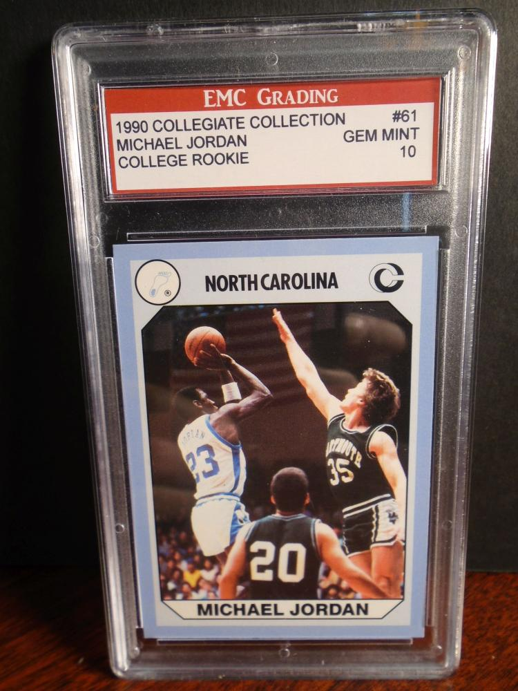 Michael Jordan 1990 Collegiate Collection College Rookie