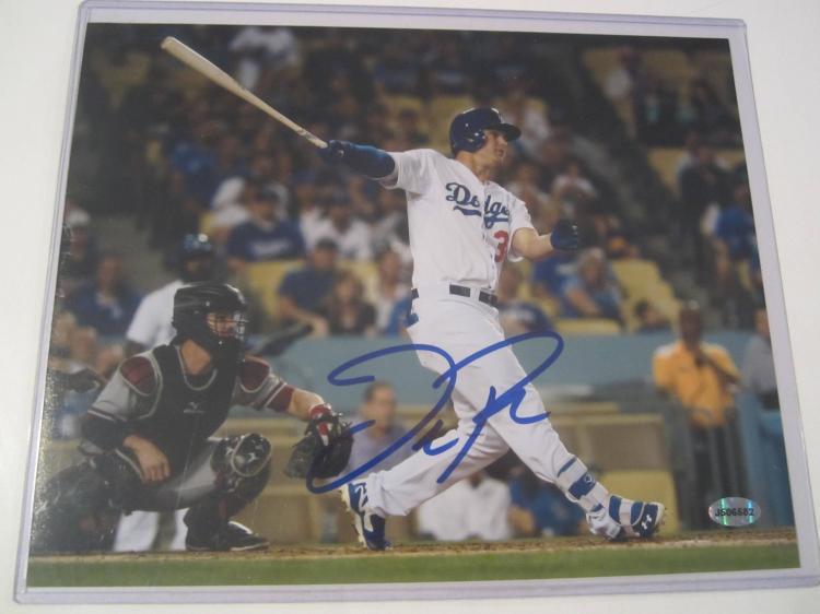 Joc Pederson Los Angeles Dodgers Hand Signed autographed 8x10 AI COA
