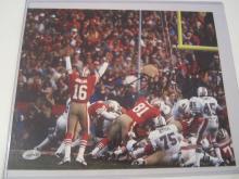 Joe Montana, San Francisco 49ers Hand Signed autographed 8x10 AI COA