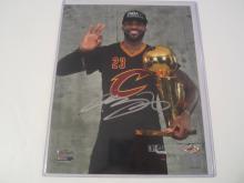 Lebron James Cleveland Cavaliers Hand Signed autographed 8x10 AI COA