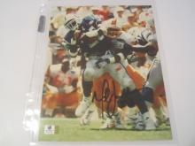 Marshall Faulk Indianapolis Colts Hand Signed autographed 8x10 color photo GAI W COA