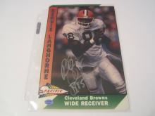 Reggie Langhorne Cleveland Browns Hand Signed autographed 8x10 SGC COA