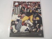 Jack Lambert Pittsburgh Steelers Hand Signed autographed 8x10 AI COA