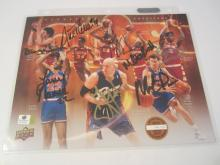 Price/Ilgauskus/Carr Cleveland Cavaliers Hand Signed autographed 8x10 color photo GAI W COA