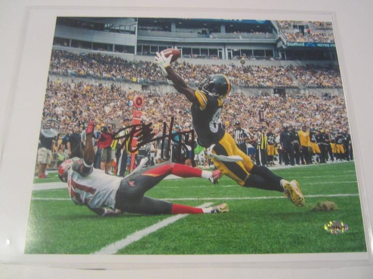 Antonio Brown Pittsburgh Steelers Hand Signed autographed 8x10 AI COA