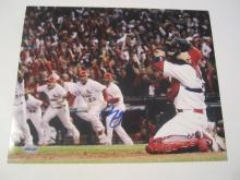 Yadier Molina St. Louis Cardinals Hand Signed autographed 8x10 AI COA