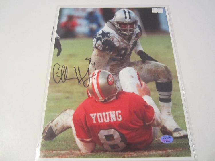 Charles Haley Dallas Cowboys Hand Signed autographed 8x10 SGC COA