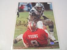 Charles Haley Dallas Cowboys Hand Signed autographed 8x10 SGC COA