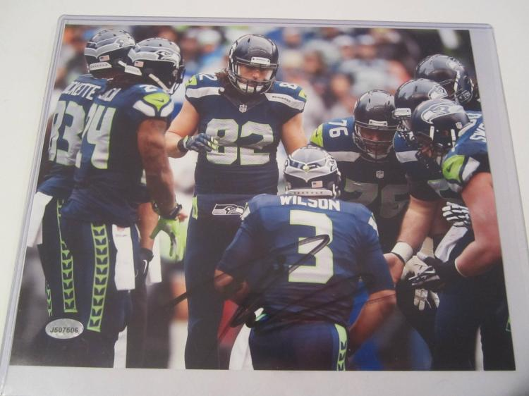Russell Wilson Seattle Seahawks Hand Signed autographed 8x10 AI COA