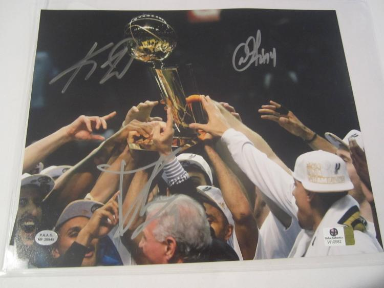 Danny Green San Antonio Spurs Hand Signed autographed 8x10 color photo GAI W COA