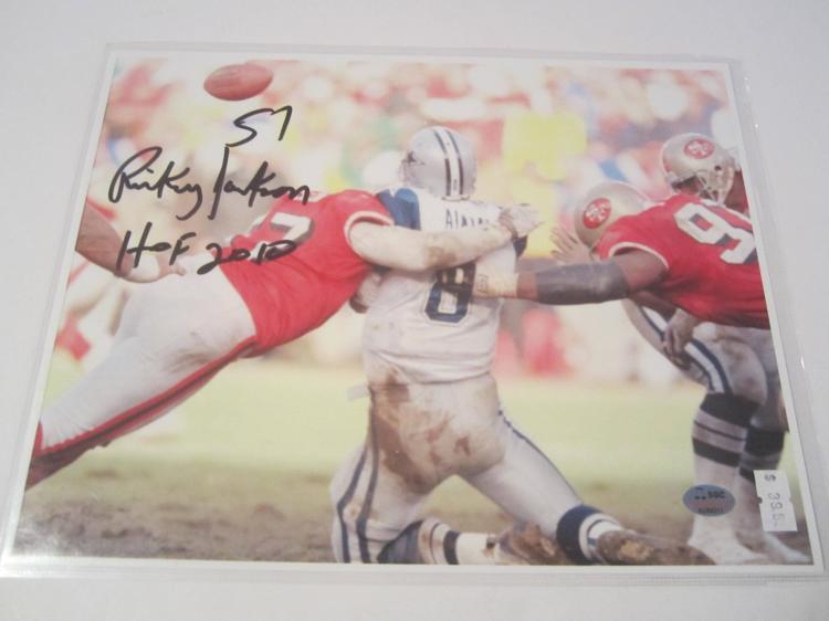 Rickey Jackson San Francisco 49ers Hand Signed autographed 8x10 SGC COA