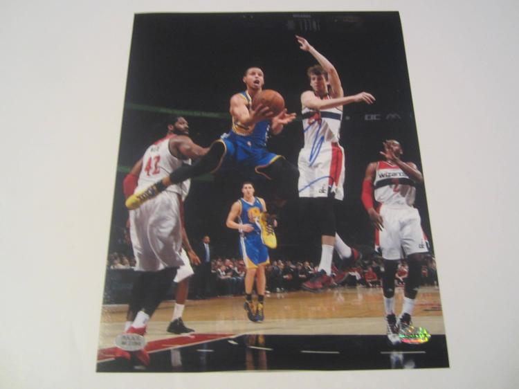 Stephen Curry Golden State Warriors Hand Signed autographed 8x10 PAAS COA