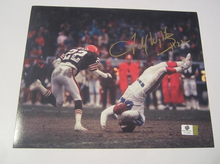 Felix Wright Cleveland Browns Hand Signed autographed 8x10 photo GAI W COA