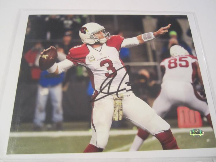 Carson Palmer Arizona Cardinals Hand Signed autographed 8x10 AI COA