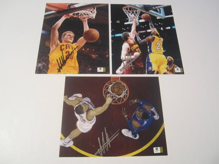 Timofey Mozgov Cleveland Cavaliers Hand Signed autographed 8x10 color photo GAI W COA