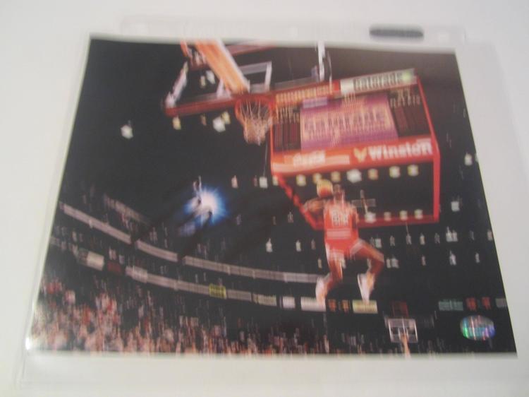 Michael Jordan Chicago Bulls Hand Signed autographed 8x10 AI COA