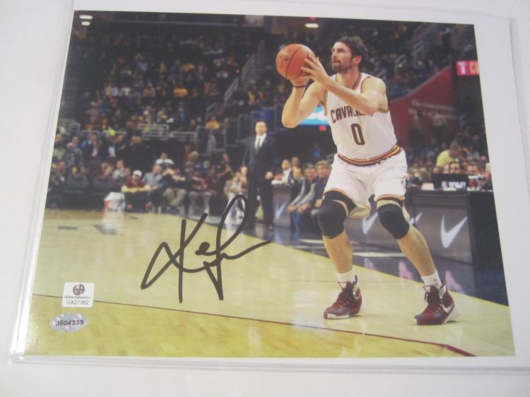 Kevin Love Cleveland Cavaliers Hand Signed autographed 8x10 color photo GAI GX COA