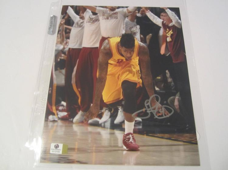 Iman Shumpert Cleveland Cavaliers Hand Signed autographed 8x10 color photo GAI W COA