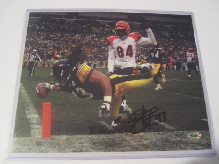 Troy Polamalu Pittsburgh Steelers Hand Signed autographed 8x10 AI COA