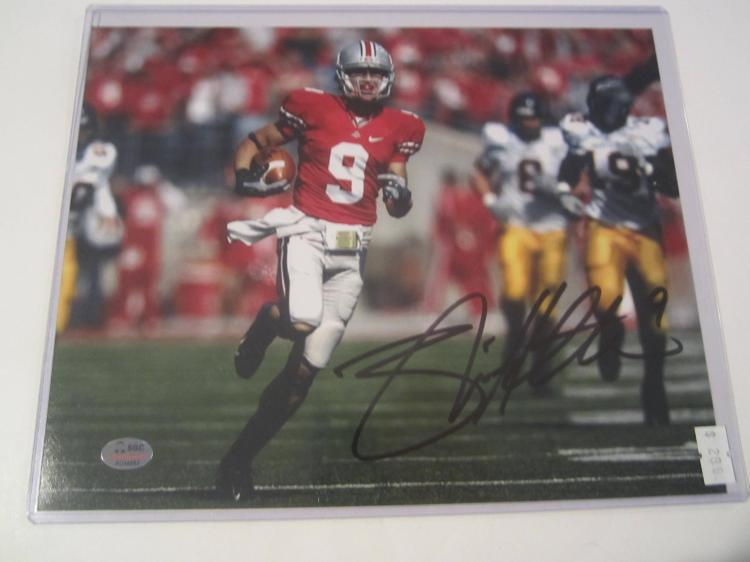 Brian Hartline Ohio State Buckeyes Hand Signed autographed 8x10 SGC COA