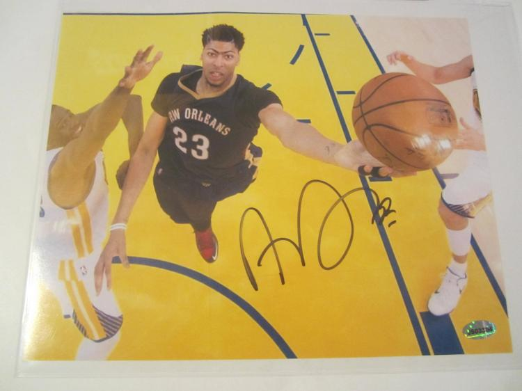 Anthony Davis New Orleans Pelicans Hand Signed autographed 8x10 AI COA