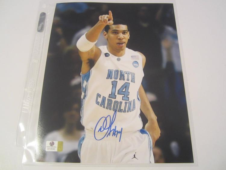 Danny Green North Carolina Tar Heels Hand Signed autographed 8x10 color photo GAI GX COA