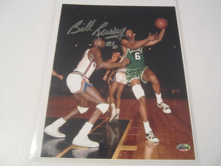 Bill Russell Boston Celtics Hand Signed autographed 8x10 AI COA