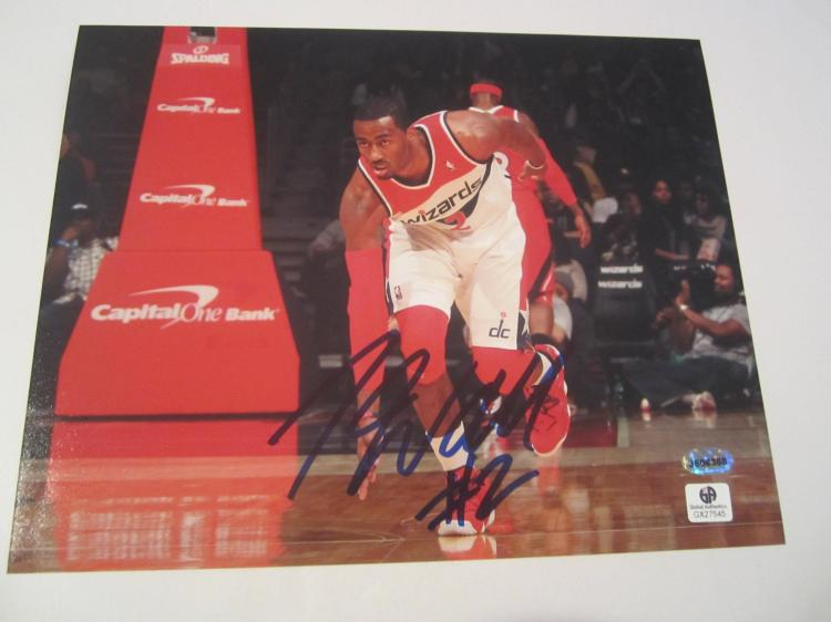 John Wall Washington Wizards Hand Signed autographed 8x10 color photo GAI GX COA