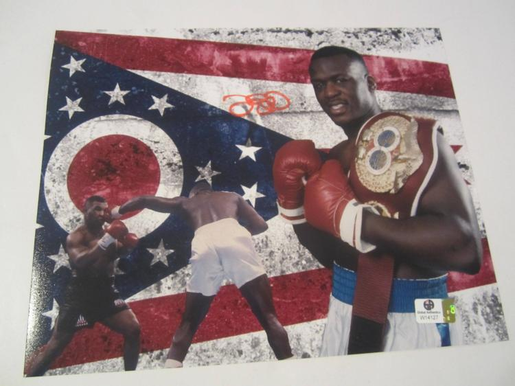 Buster Douglas Hand Signed autographed 8x10 color photo GAI W COA