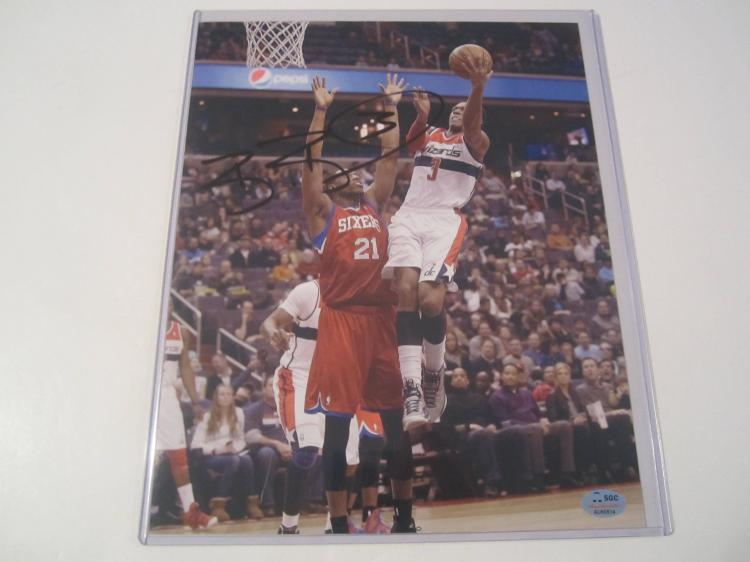 Bradley Beal Washington WIzards Hand Signed autographed 8x10 SGC COA