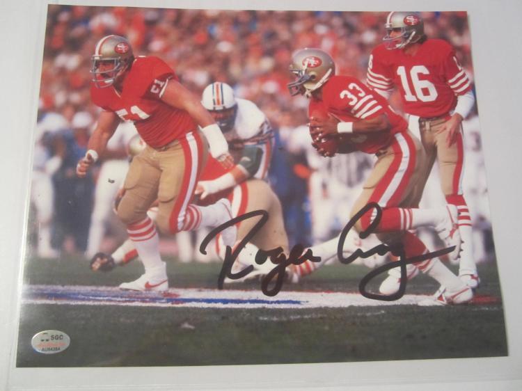 Roger Craig San Francisco 49ers Hand Signed autographed 8x10 SGC COA