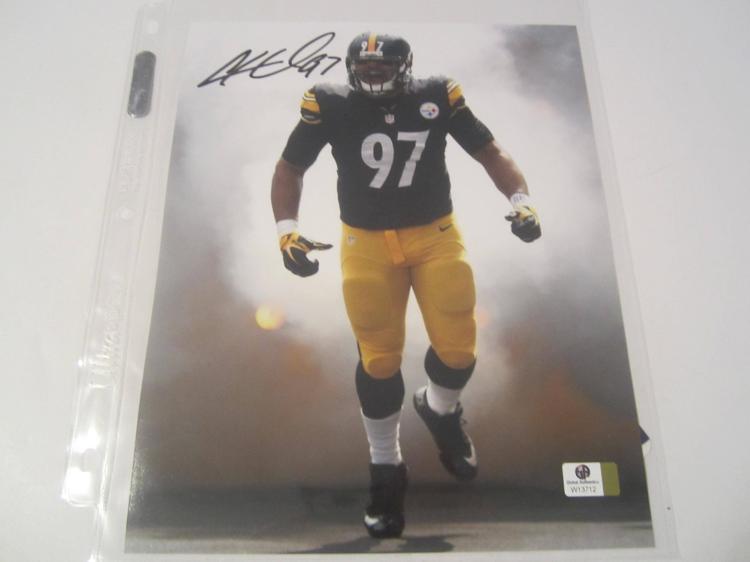 Cameron Heyward Pittsburgh Steelers Hand Signed autographed 8x10 color photo GAI W COA