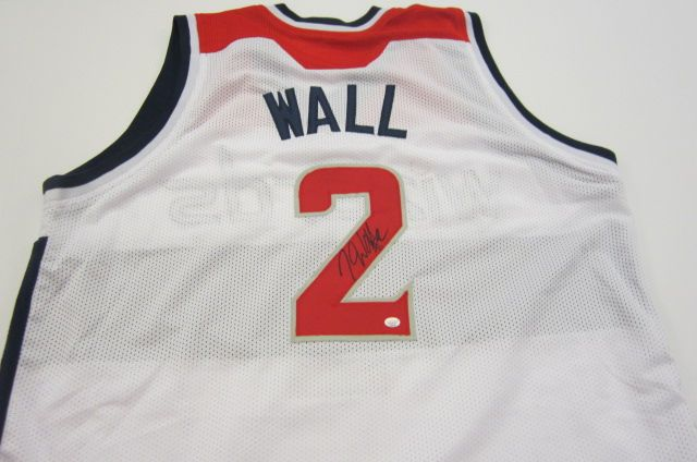 superior quality a051c 01153 John Wall Washington Wizards signed autographed Jersey ...