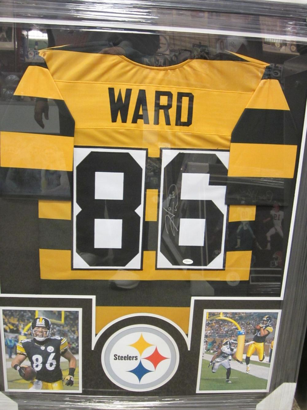 Hines Ward Pittsburgh Steelers Hand Signed Autographed