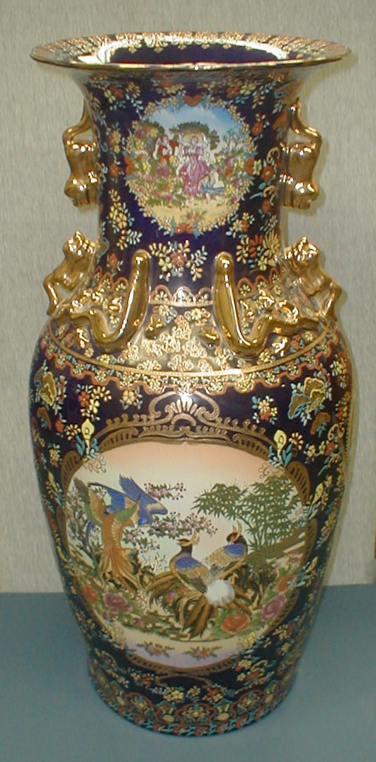 Large Chinese Contemporary Porcelain Floor Vase 36 5 Quot Tall