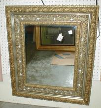 Mirror in ornate 27 x 31