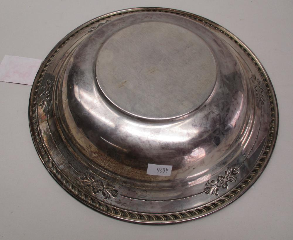 Wallace Sterling Silver Serving Bowl 10 Quot Diameter Small